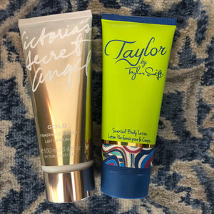 Taylor Swift and Victoria's Secret Lotions 3.4 oz